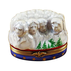 Mount Rushmore Limoges Box by Rochard™-Limoges Box-Rochard-Top Notch Gift Shop