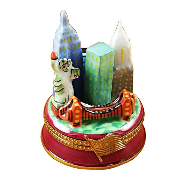 New York By Night Limoges Box by Rochard™-Limoges Box-Rochard-Top Notch Gift Shop