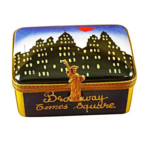 New York Skyline By Night Limoges Box by Rochard™-Limoges Box-Rochard-Top Notch Gift Shop