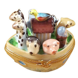 Noah'S Ark Limoges Box by Rochard™-Limoges Box-Rochard-Top Notch Gift Shop