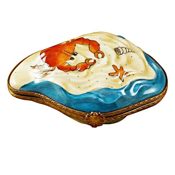 Oyster with Mermaid Limoges Box by Rochard™-Limoges Box-Rochard-Top Notch Gift Shop