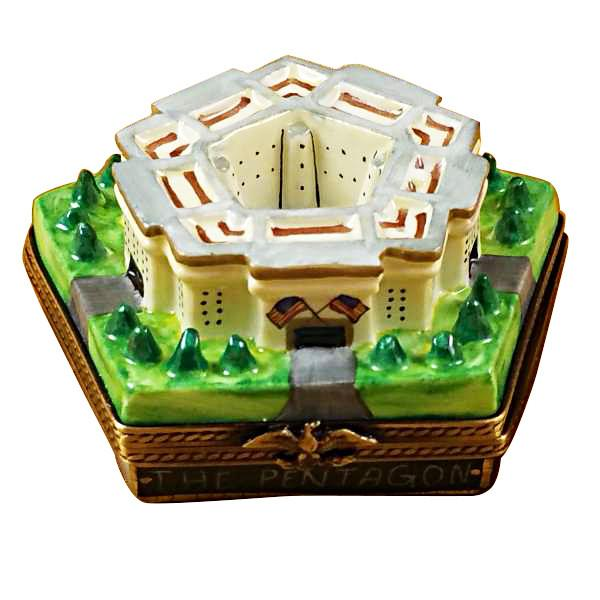 Pentagon Limoges Box by Rochard™-Limoges Box-Rochard-Top Notch Gift Shop