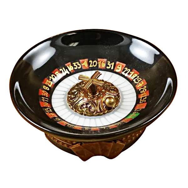 Roulette Wheel Limoges Box by Rochard™-Limoges Box-Rochard-Top Notch Gift Shop
