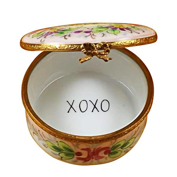 Round - With Love - Studio Collection Limoges Box by Rochard™-Rochard-Top Notch Gift Shop