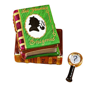 Sherlock Holmes Book Limoges Box by Rochard™-Rochard-Top Notch Gift Shop