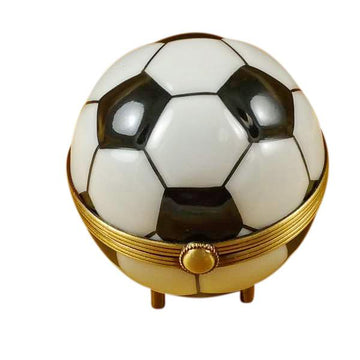 Soccer Ball Limoges Box  by Rochard