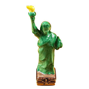 Statue Of Liberty Limoges Box by Rochard™-Limoges Box-Rochard-Top Notch Gift Shop