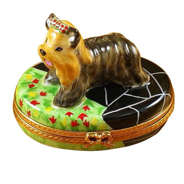 Terrier Limoges Box by Rochard™-Limoges Box-Rochard-Top Notch Gift Shop