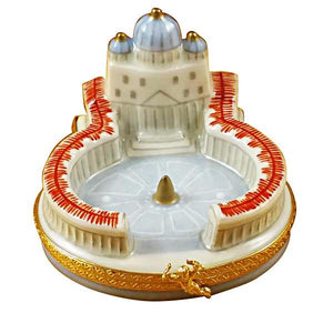 Vatican Limoges Box by Rochard™-Limoges Box-Rochard-Top Notch Gift Shop
