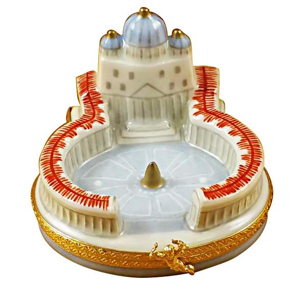 Vatican Limoges Box by Rochard-Limoges Box-Rochard-Top Notch Gift Shop