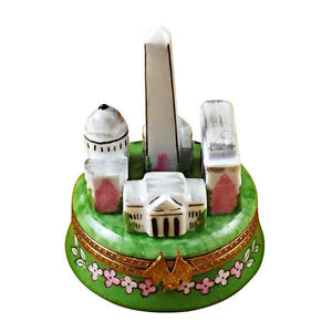 Washington Monuments Limoges Box by Rochard™-Limoges Box-Rochard-Top Notch Gift Shop