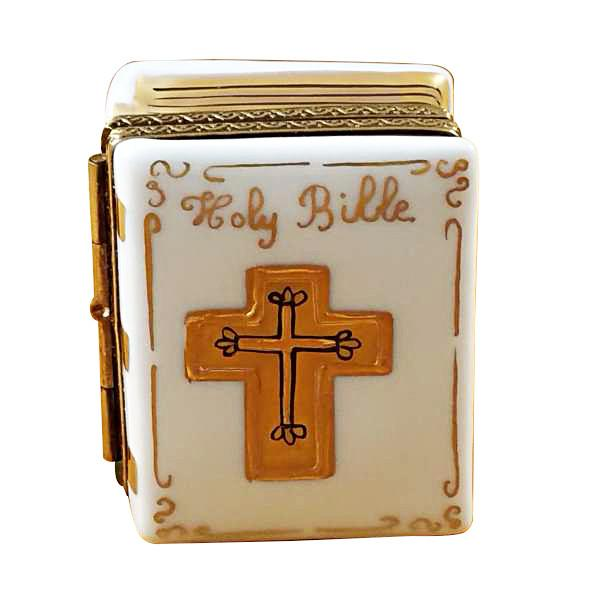White Bible Limoges Box by Rochard™-Rochard-Top Notch Gift Shop