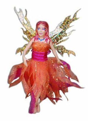 Flitter Fairies - Mara, the Fire Fairy-Toy-William Mark Corp.-Top Notch Gift Shop
