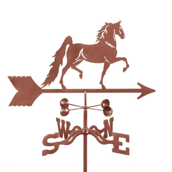 Saddlebred Horse Weathervane-Weathervane-EZ Vane-Top Notch Gift Shop