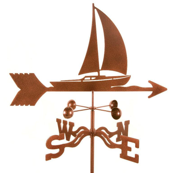 Sailboat Weathervane-Weathervane-EZ Vane-Top Notch Gift Shop