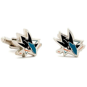 San Jose Sharks Cufflinks-Cufflinks-Cufflinks, Inc.-Top Notch Gift Shop