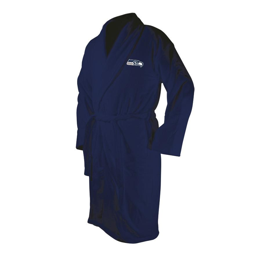 Seattle Seahawks Blue Terrycloth Bathrobe-Bathrobe-Wincraft-Top Notch Gift Shop