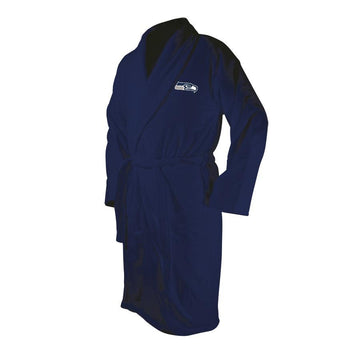 Seattle Seahawks Blue Terrycloth Bathrobe