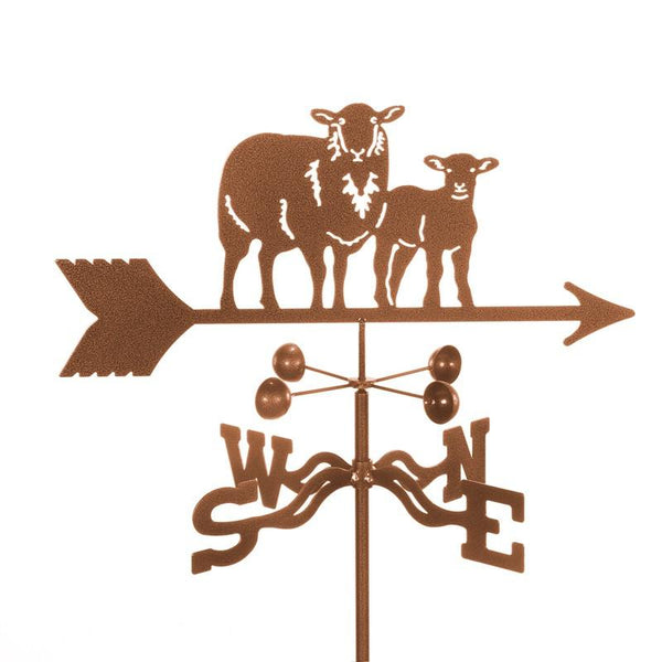 Sheep with Lamb Weathervane-Weathervane-EZ Vane-Top Notch Gift Shop