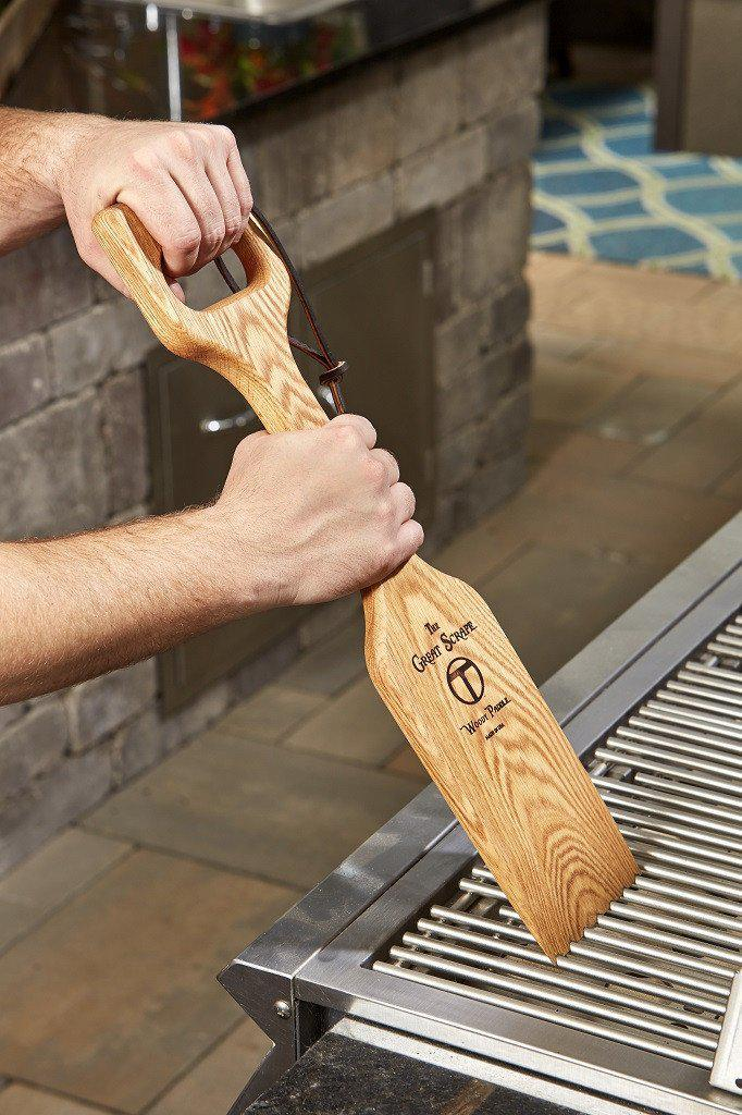 Great Scrape Woody Shovel BBQ Cleaning Tool-Barbeque Tool-Thompson Brothers-Top Notch Gift Shop