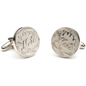 Silver Edition NY Mets Cufflinks-Cufflinks-Cufflinks, Inc.-Top Notch Gift Shop