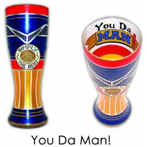 Simply the Best Hand Painted Pilsner Glass-Pilsner Glass-Reverz-Art-Top Notch Gift Shop