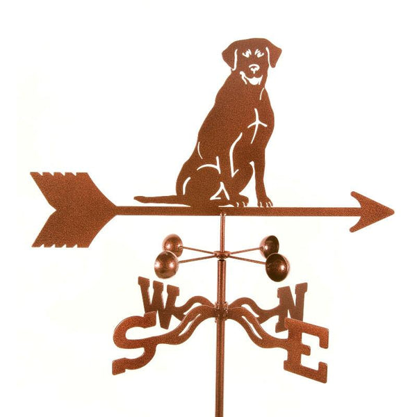 Sitting Labrador Weathervane-Weathervane-EZ Vane-Top Notch Gift Shop