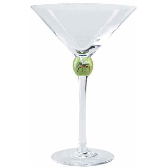 Skeeter Martini Glass-Martini Glass-Huephoria-Top Notch Gift Shop
