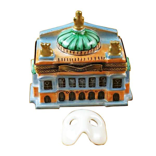 Small Paris Opera House Limoges Box by Rochard™-Rochard-Top Notch Gift Shop