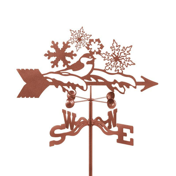 Snowflakes Weathervane-Weathervane-EZ Vane-Top Notch Gift Shop