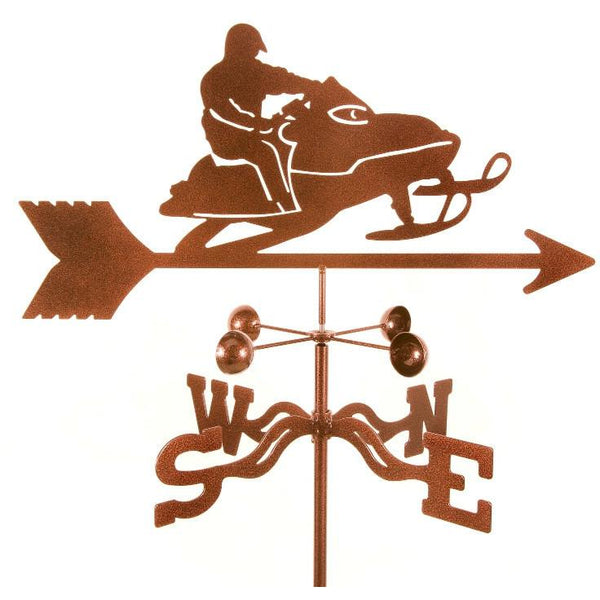Snowmobile Weathervane-Weathervane-EZ Vane-Top Notch Gift Shop