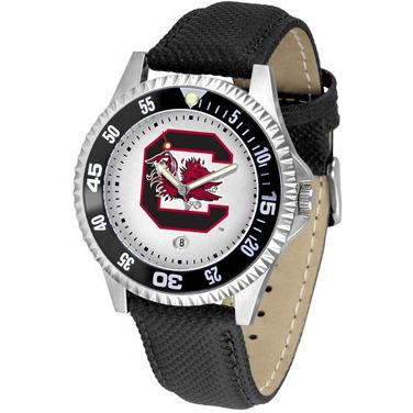 South Carolina Gamecocks Competitor - Poly/Leather Band Watch-Watch-Suntime-Top Notch Gift Shop
