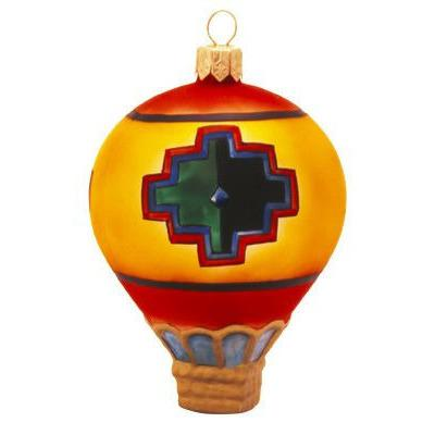 Spirit of the Anasazi Balloon Blown Glass Christmas Ornament-Ornament-Landmark Creations-Top Notch Gift Shop
