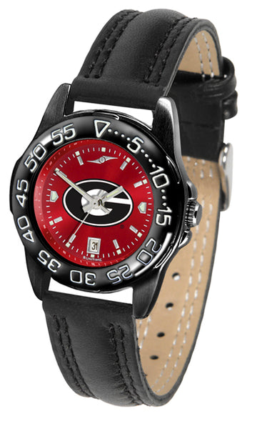 Georgia Bulldogs Ladies Fantom Bandit AnoChrome Watch