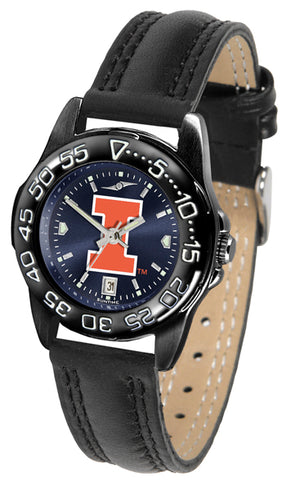 Illinois Fighting Illini Ladies Fantom Bandit AnoChrome Watch-Watch-Suntime-Top Notch Gift Shop