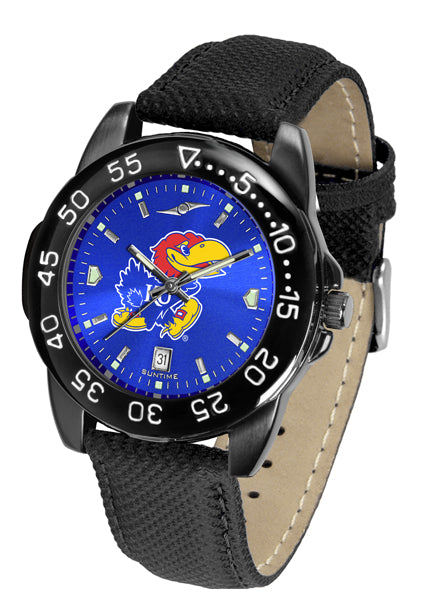 Kansas Jayhawks Men's Fantom Bandit AnoChrome Watch-Watch-Suntime-Top Notch Gift Shop