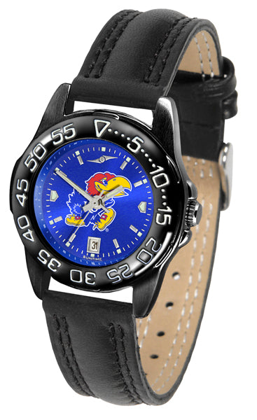 Kansas Jayhawks Ladies Fantom Bandit AnoChrome Watch-Watch-Suntime-Top Notch Gift Shop
