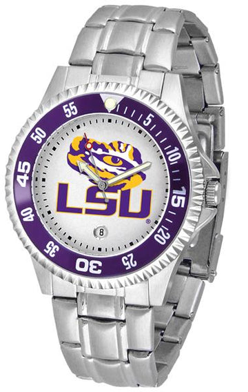 Louisiana State Tigers Competitor  - Steel Band Watch