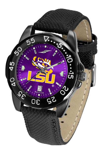 LSU Tigers Men's Fantom Bandit AnoChrome Watch-Watch-Suntime-Top Notch Gift Shop