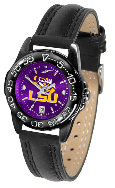 LSU Tigers Ladies Fantom Bandit AnoChrome Watch-Watch-Suntime-Top Notch Gift Shop