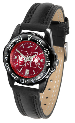 Mississippi State Bulldogs Ladies Fantom Bandit AnoChrome Watch-Watch-Suntime-Top Notch Gift Shop