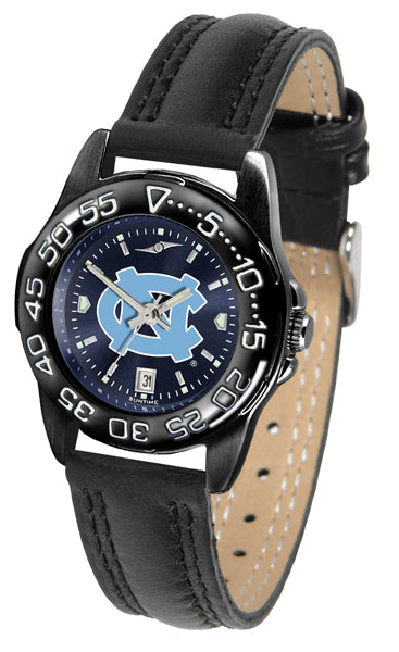 North Carolina Tar Heels Ladies Fantom Bandit AnoChrome Watch-Watch-Suntime-Top Notch Gift Shop