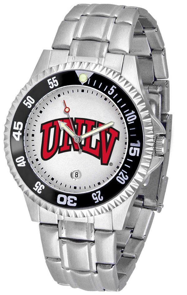 Nevada Las Vegas Rebels Competitor - Steel Band Watch-Watch-Suntime-Top Notch Gift Shop