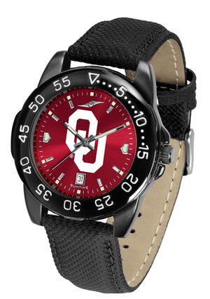 Oklahoma Sooners Men's Fantom Bandit AnoChrome Watch-Watch-Suntime-Top Notch Gift Shop