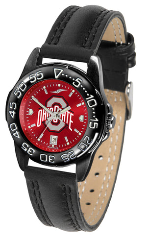 Ohio State Buckeyes Ladies Fantom Bandit AnoChrome Watch-Watch-Suntime-Top Notch Gift Shop