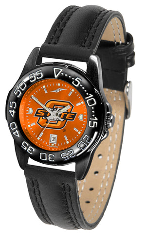 Oklahoma State Cowboys Ladies Fantom Bandit AnoChrome Watch-Watch-Suntime-Top Notch Gift Shop