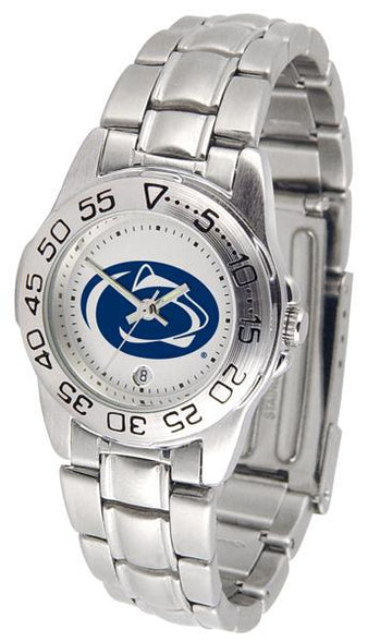 Penn State Nittany Lions Ladies Steel Band Sports Watch
