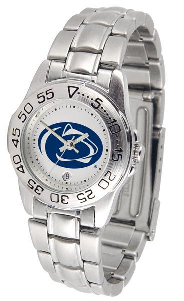 Penn State Nittany Lions Ladies Steel Band Sports Watch-Watch-Suntime-Top Notch Gift Shop