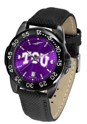 Texas Christian Horned Frogs Men's Fantom Bandit AnoChrome Watch-Watch-Suntime-Top Notch Gift Shop