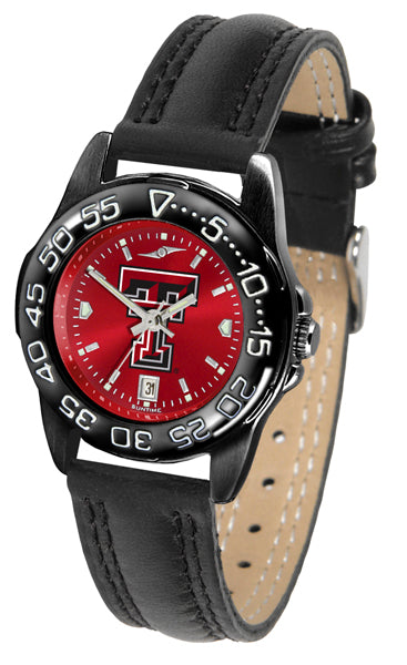 Texas Tech Red Raiders Ladies Fantom Bandit AnoChrome Watch-Watch-Suntime-Top Notch Gift Shop